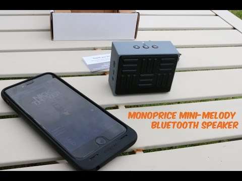 Mini Melody Bluetooth Speaker from Monoprice