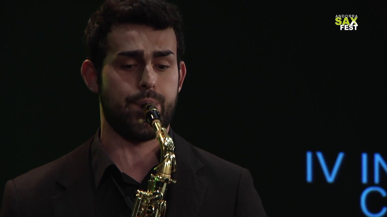 DANIEL SANCHEZ - FIRST ROUND - IV ANDORRA INTERNATIONAL SAXOPHONE COMPETITION 2017