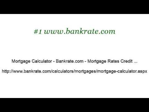 How-To Calculate Mortgage Payments On A Financial Calculator - YouTube - bank rate mortgage calculator