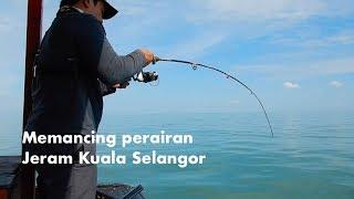 Pesta gelama (dan jenahak tunggal) di perairan Jeram Kuala Selangor