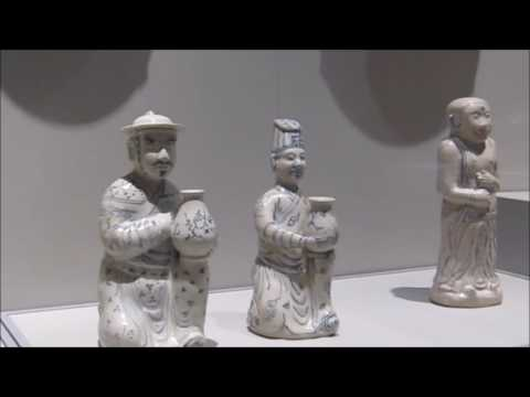 Vietnamese wares in Singapore Asian Civilisation Museum  (新加坡亚洲文明博物馆的越南瓷)