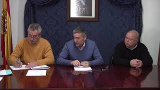Pleno Montejaque Enero 2018