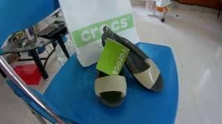Нячанг 2016 Вьетнам.Женская обувь CROCS.(Кофе покупайте здесь!Без вариантов! https://www.youtube.com/watch?v=eJ4WfRZukdM #вьетнам #нячанг., 2016-07-14T03:51:48.000Z)