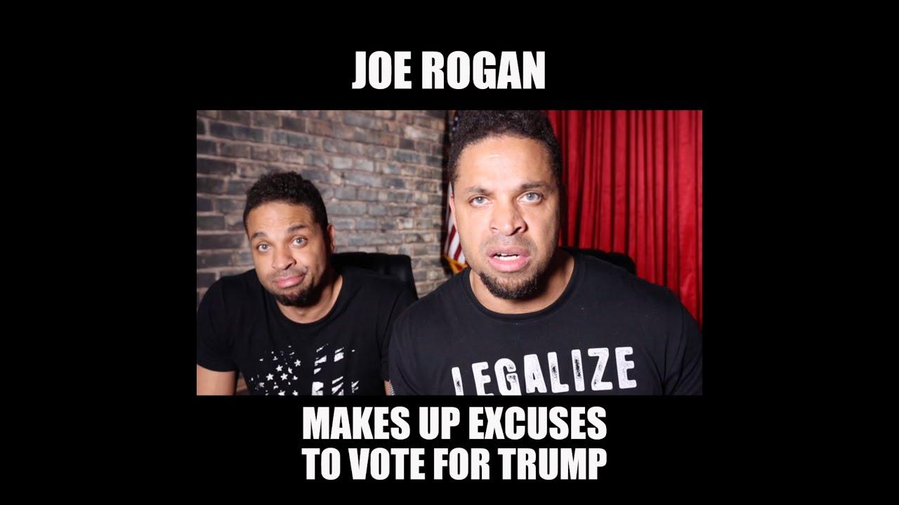 Joe Rogan Makes Up Excuses To Vote For Trump