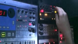 Industrial / Electro / EBM - Korg Electribe EA-1 / Volca Keys, Beats, Sample and Monotron Delay