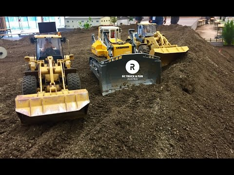 Construction Special !! RC Trucks, Excavator & Wheel Loader Action! Wels 2017