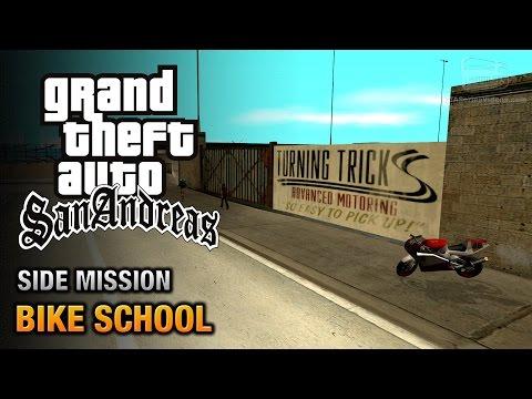 GTA San Andreas - Bike School