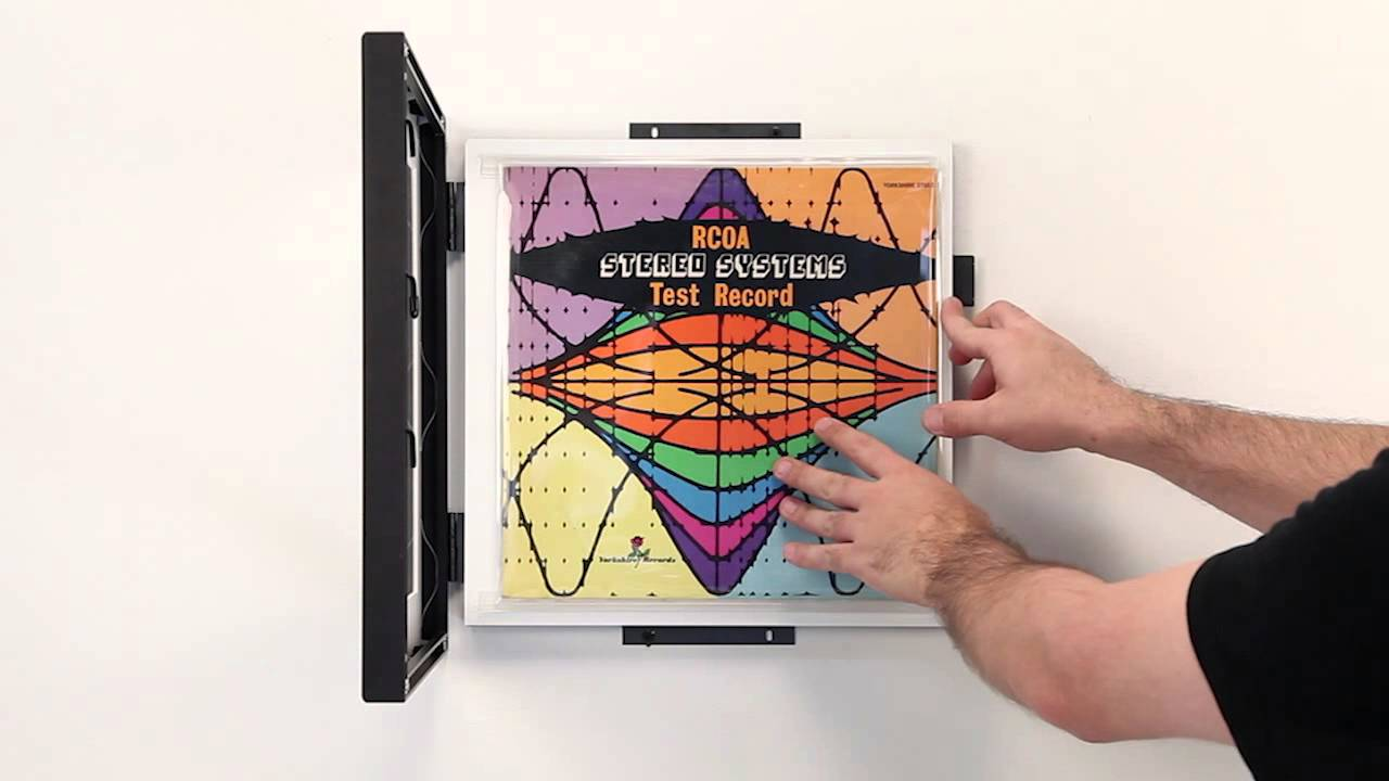 SwingFrame Record Album Frames - YouTube