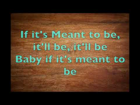 Meant To Be (Lyrics)- Florida Georgia Line