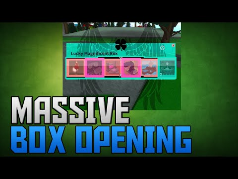 Miners haven: MASSIVE BOX OPENING | Magnificent Box