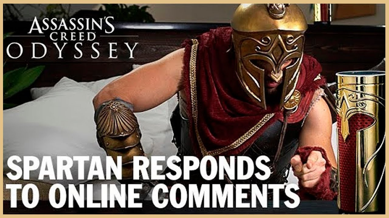 Assassin's Creed Odyssey: Spartan Responds to Online Comments   Ubisoft [NA]