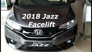 Honda Jazz 2018 Facelift First Looks, Changes Review with New Features