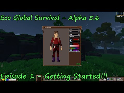 Eco Global Survival - Season 3 - Episode 1 – Alpha 5.6