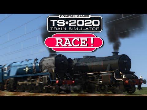 Train Simulator 2020 - Black 5 V.S. Merchant Navy Class (RACE!)