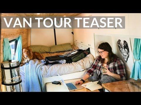 VAN LIFE TOUR | ULTIMATE OFF-GRID DIY SPRINTER CONVERSION | TEASER