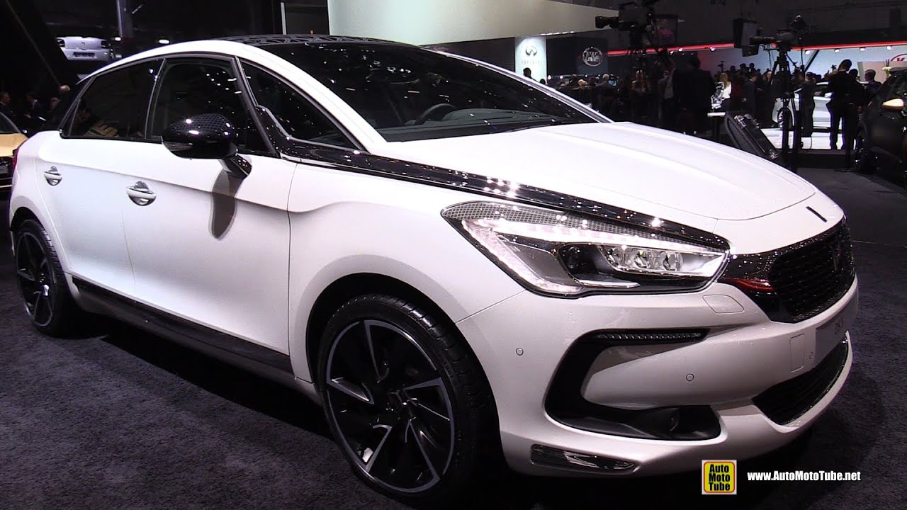 2016 citroen ds5 hybrid exterior and interior walkaround. Black Bedroom Furniture Sets. Home Design Ideas