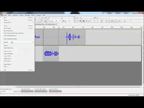 How to insert clips into your podcast using Audacity