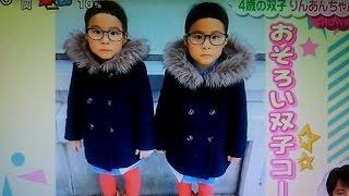 りんあんちゃん 可愛いすぎる双子コーデ インスタグラムで大人気! thumbnail
