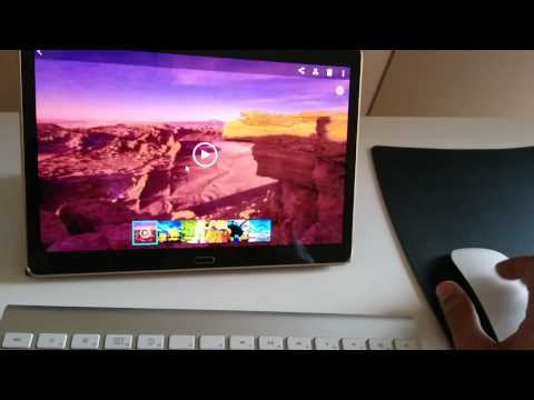 Samsung Galaxy Tab S (10.5) With Keyboard And Mouse