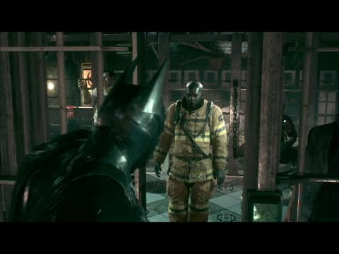 Batman Arkham Knight Bomberos Misión Final Youtube