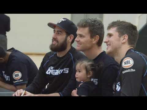 NZ SKYCITY Breakers Community Basketball Clinic