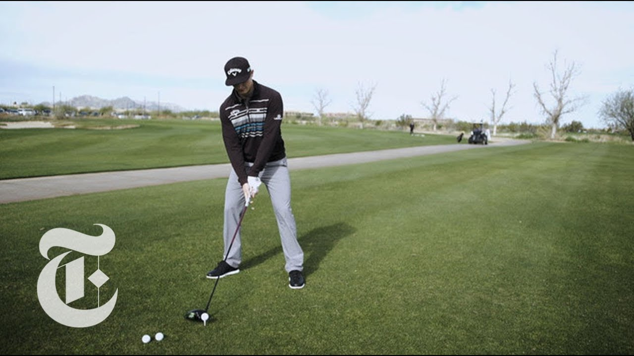 The Anatomy Of A Professional Golfer S Swing The New York Times