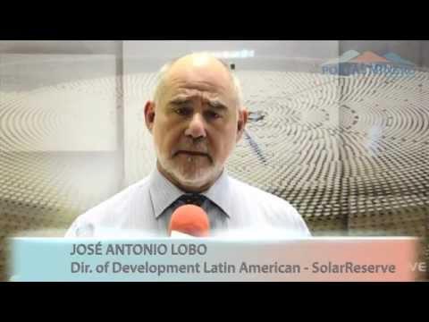 José Antonio Lobo, Director of Development Latin American SolarReserve