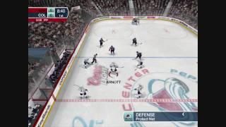 NHL 09 PC in HD NSH @ COL 1st Period w/ mods
