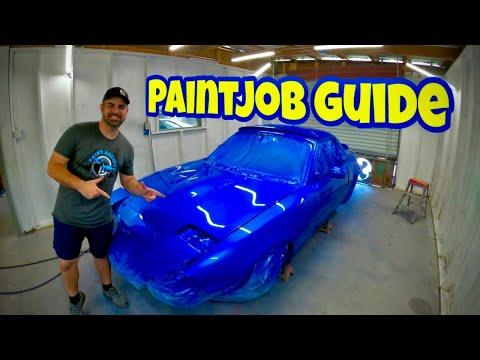 Car Painting: Full Car Paintjob Guide