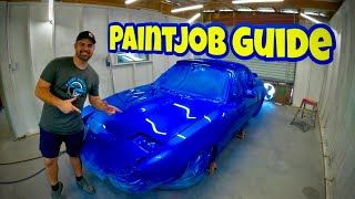 Car Painting: Full Car Paintjob Guide