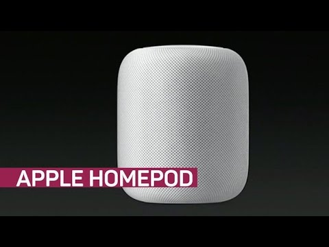 The HomePod: Apple's answer to the Amazon Echo and Google Home (CNET News)