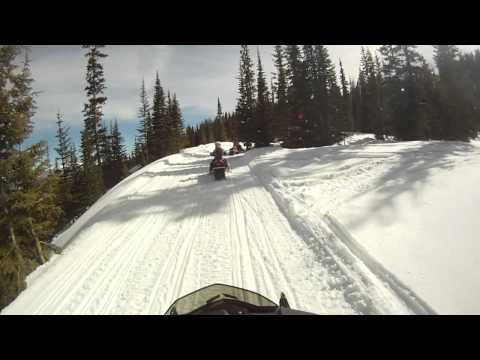 Grand Lake, CO snowmobile trails