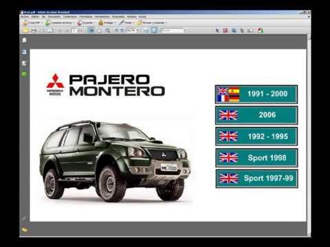 mitsubishi pajero montero manual de taller service manual youtube rh youtube com 3 0 Mitsubishi 6G72 V6 Mitsubishi 3.0 V6 Motor