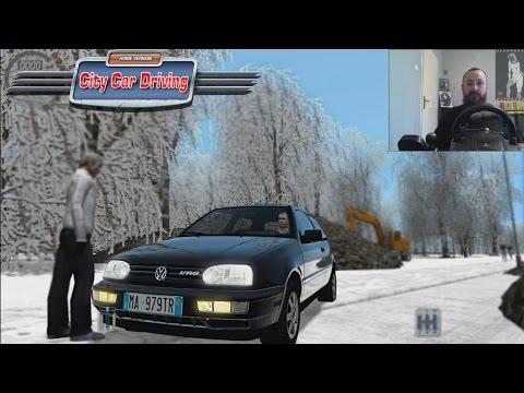 Volkswagen Golf GTI - CITY CAR DRIVING Ep2