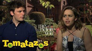 Entrevista: Yo Antes de Ti - Emilia Clarke y Sam Claflin