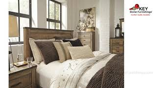Ashley Trinell Queen Panel Bed B446QPB | KEY Home