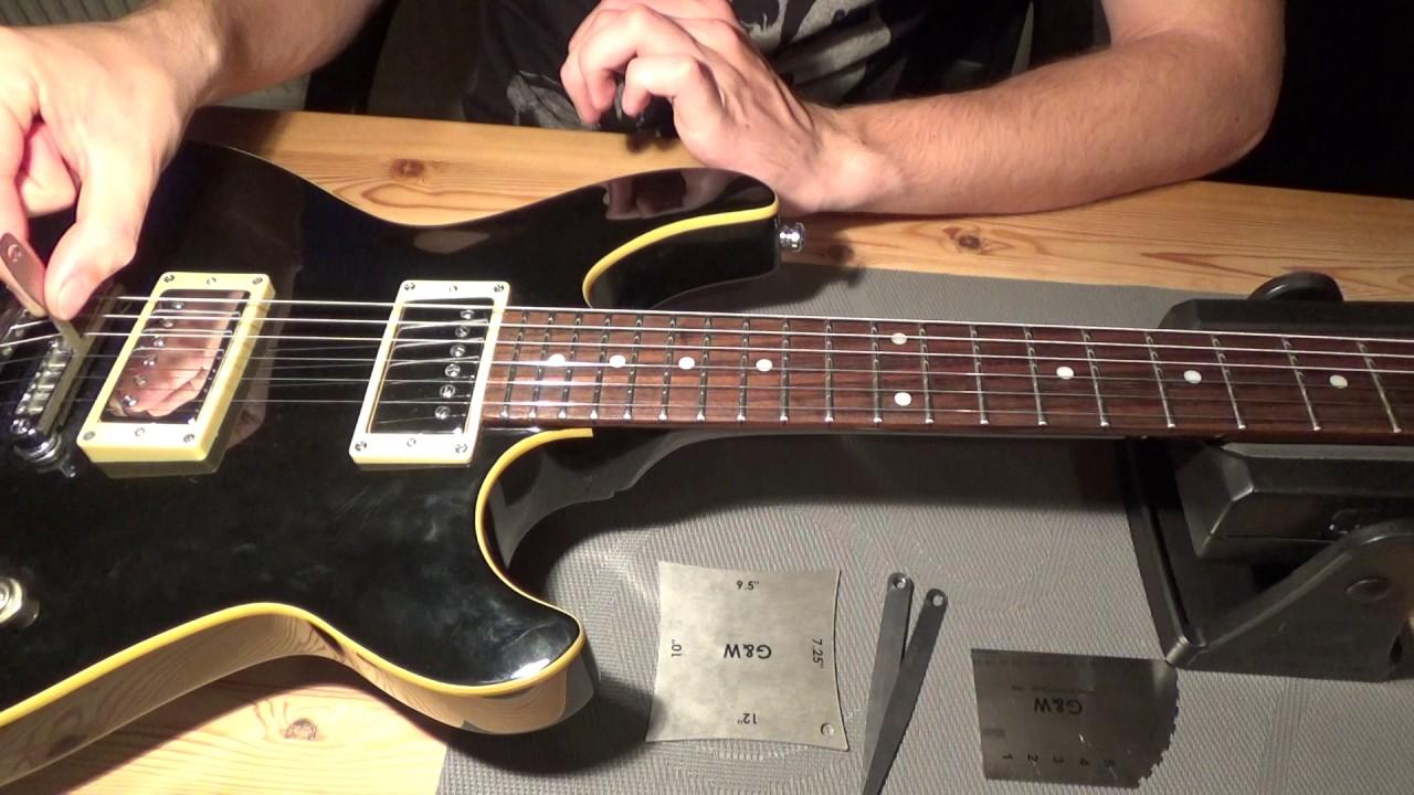 Guitar Setup Talk String Action Fretboard Radius Understring