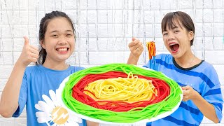 Làm Mì Spaghetti Đặc Biệt ❤ Hãy Chia Sẻ Mì Ý Cho Nhau - Trang Vlog
