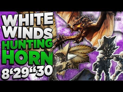"Monster Hunter World - White Winds Hunting Horn 8'29""30 Die weißen Winde der neuen Welt - MHW thumbnail"