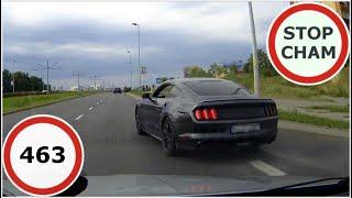 Stop Cham #463 - Niebezpieczne i chamskie sytuacje na drogach