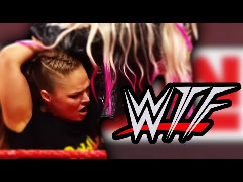 WWE RAW WTF Moments | Ronda Rousey Suspended By Part-Time Contract