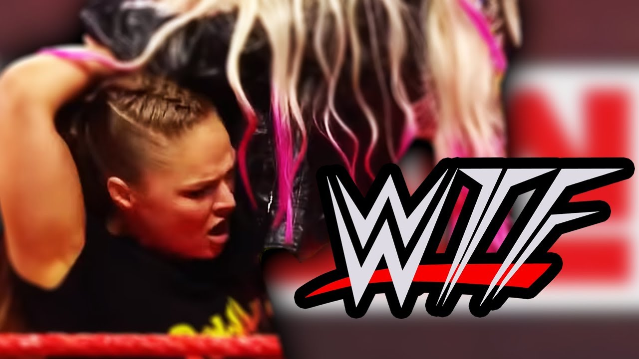 wwe-raw-wtf-moments-ronda-rousey-suspended-by-part-time-contract