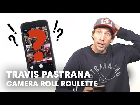 Travis Pastrana Opens Up His Phone | Camera Roll Roulette
