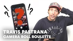 Travis Pastrana's Secrets Revealed | Camera Roll Roulette