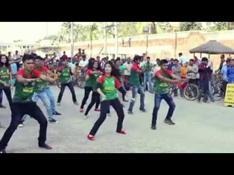 Friends Film Presents Flash Mob In Bogra Bangladesh