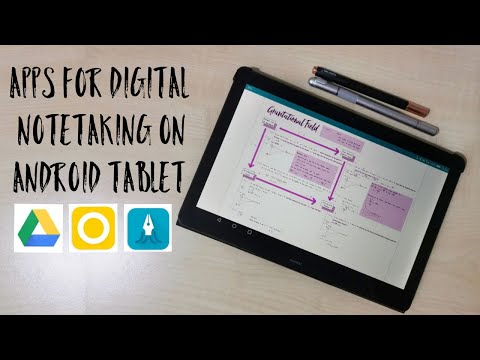 Apps I Use For Digital Note Taking On An Android Tablet: Android Goodnotes/notability Alternatives