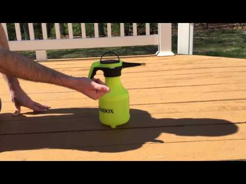 Product Review - Homdox's 2 Liter Handheld Pump Pressure Sprayer