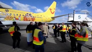 Dürer geht auf Reisen: die TUIfly Boeing 737-800