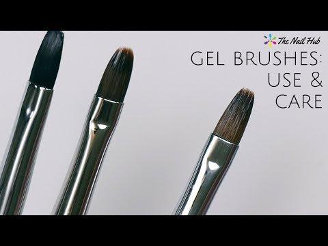 Gel Brushes: Proper Use & Maintenance