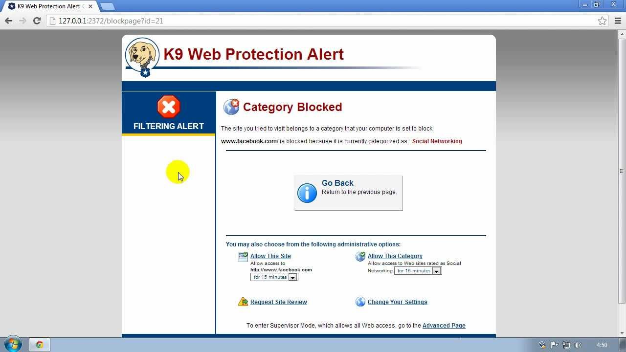 Un-install bluecoat k9 web protection without password youtube.